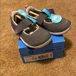 Nib Stride Rite Toddler 6 Lia Mary Jane Shoes